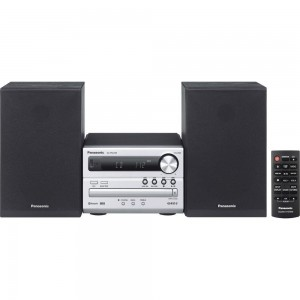 Panasonic Micro Bluetooth USB CD Player - SC-PM250GS-S