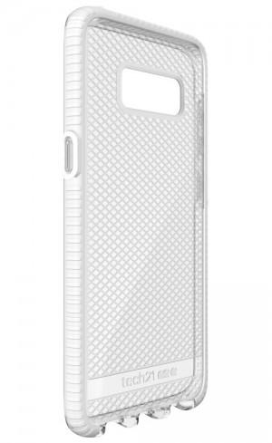 Tech21 Evo Check for Galaxy S8 (Clear/White)