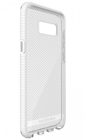 Tech21 Evo Check for Galaxy S8+ (Clear/White)