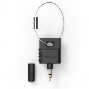 Elago - key ring splitter for Headphones & Earphones - Black