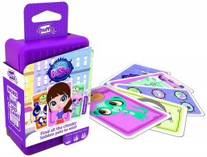 Cartamundi - Shuffle Littlest Pet Shop Card Game - 100210004