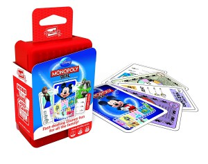Cartamundi - Shuffle Monopoly Deal Disney Card Game - 100216004