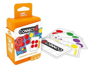 Cartamundi - Shuffle Connect 4 Card Game - 100228004