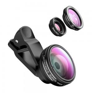 TaoTronics Fisheye Lens Clip Kit for Universal Smartphone - TT-SH014