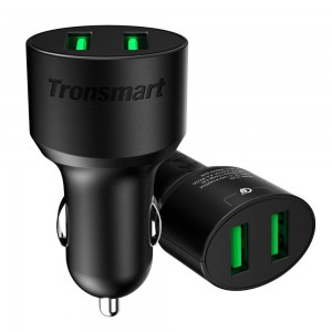 Tronsmart - 36W Both Support Quick Charge 3.0 - CC2TF