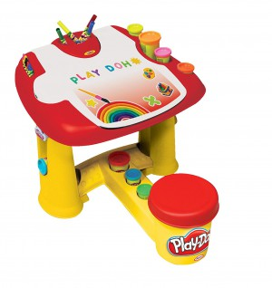 Darpeje - Play-Doh My First Desk With 20 Piece Accessory Pack - CPDO001