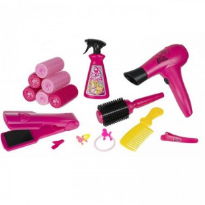 Halsall - Barbie & Me Glamtastic Hair Salon - 1680795