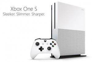 Xbox One S White Console - 500GB -
