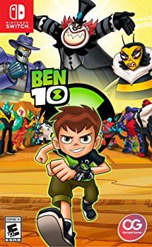Ben10 Nintendo Switch game