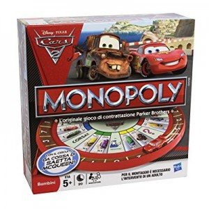 Hasbro - Monopoly Cars 2 Race Track Game - 27810
