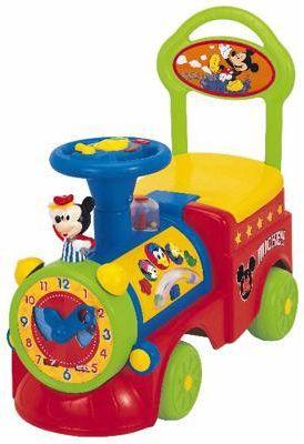 Kiddieland Mickey Tick Tock Clock Activity - 26575