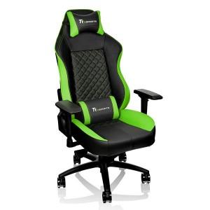 Thermaltake TteSPORTS Gaming Chair GT-Comfort 500 Green/BLACK - GC-GTC-BGLFDL-01