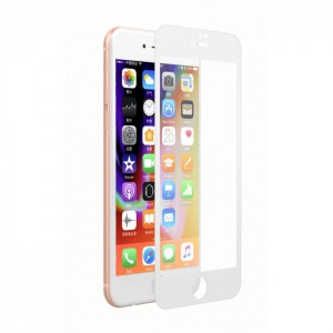 Devia 3D Tempered Glass 0.26mm for ip8/8+ - DEVIA-FSTG8/7P-WH