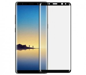 DEVIA 3D Curved tempered glass full screen for Galaxy Note8 - DEVIA-3DNOTE8-BK