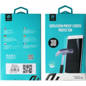 Devia 3D Explosion-proof Screen Protector for S8+