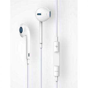 Devia Earpods With MIC and Remote - B0406-WH