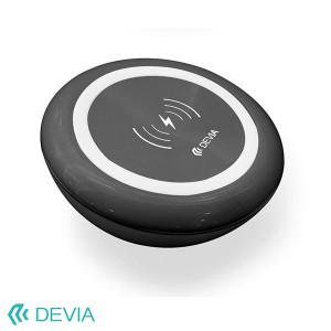 Devia Non-Pole Series Inductive Fast Wireless Charger - Black