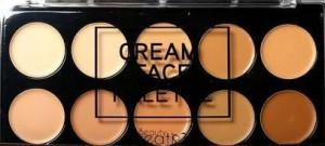 Beauty Creations - Cream Face Palette