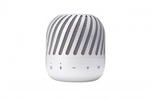 LG Bluetooth Speaker with Turbine Bide Design, Passive Radiator, IPx4 - PJ2