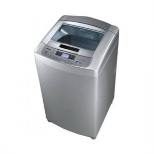LG Washer Top Load 12KG, Turbo Drum, White - T1266TEFT