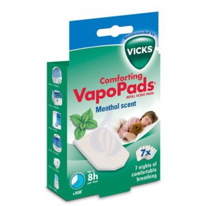 Vicks comforting Scent PadsVapors VH7
