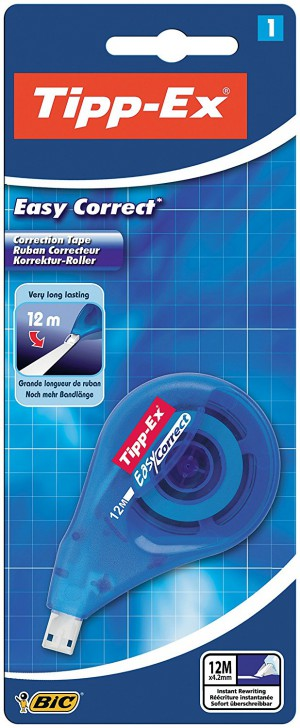 BIC - Tipp-Ex Easy Correct Correction Roller - BCCT644547