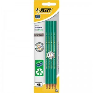 BIC - Evolution Graphite Pencils - HB - Pack of 4