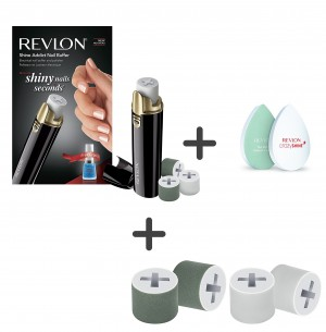 Revlon Nail Buffer+rollers RVSP3525UKE+REP