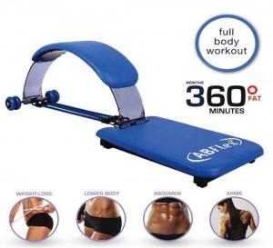 AB Flex Abdominal Trainer Machine - Blue