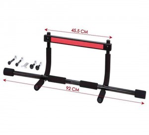 Heavy-Duty Easy Gym Doorway Chin-Up/Pull-Up Bar