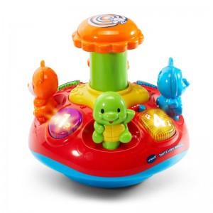 VTech - Push & Play Spinning Top - 186303