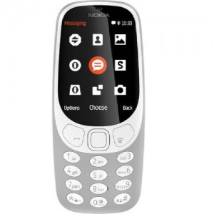 Nokia Set 3310 Dual Sim (Grey) - N3310DS