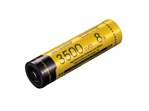 Nitecore - High Performance 18650 3500mAh 3.6V 8A Protected Lithium Ion - NL1835HP