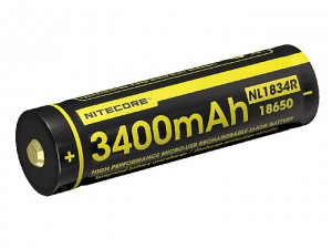 Nitecore - Lights USB Rechargeable Battery 3400 - NL1834R