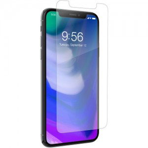 ZAGG - iPhone X Invisible Shield - Glass Plus - Case Friendly - Screen Protector - ZG-200101013