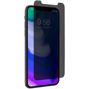 ZAGG - iPhone X Invisible Shield - Glass Plus Privacy - Case Friendly - Screen Protector - ZG-200101018