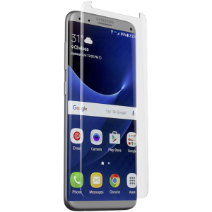 ZAGG Invisible Shield Samsung  S8 Glass Contour - Clear Screen Protector - ZG-GS8CGS-F00