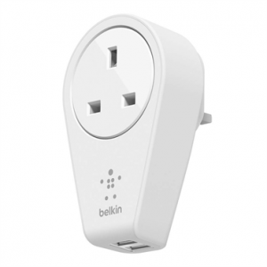 Belkin Rotating 2.4 amp Dual USB Mains Charger
