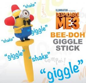 Wow! Stuff Bee-doh Giggle Stick Min-1004