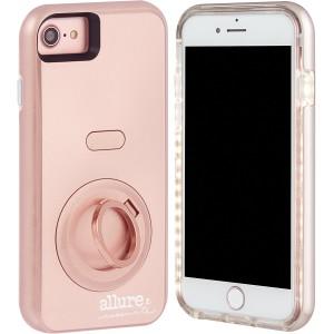 Case-Mate - iphone 8/7/6s/6 Plus Allure Selfie Case - Rose Gold (CM-CM035458)