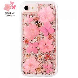 Case-mate - iPhone 8/7/6s/6 Karat Petals Case - Pink (CM-CM036092)