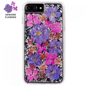 Case-Mate - iPhone 8/7/6s/6 Plus Karat Petals Case - Purple (CM-CM036174)