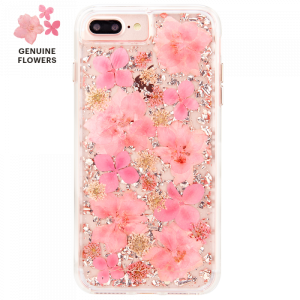Case-Mate - iPhone 8/7/6s/6 Plus Karat Petals Case - Pink (CM-CM036176)