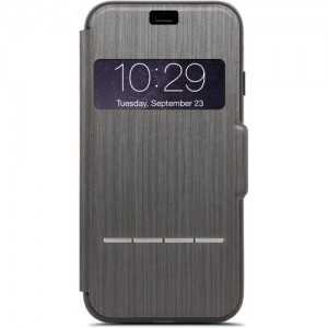 Moshi iPhone 7 Sensecover - Charcoal Black - MSHI-H-072008