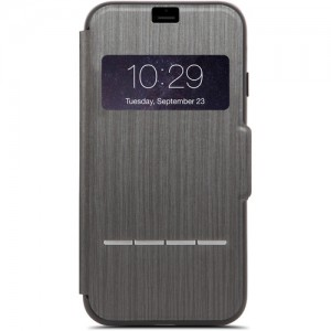 Moshi iPhone 7 Plus Sensecover - Charcoal Black - MSHI-H-072009