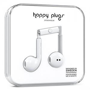 Happy Plugs Earbud Plus Wireless - White (HP-7884)