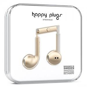 Happy Plugs Earbud Plus Wireless - Champagne (HP-7886)