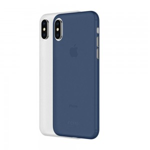 INCIPIO iPhone X Feather Light ( 2 Pack ) - Frost / Navy - ICP-IPH1645-FNV