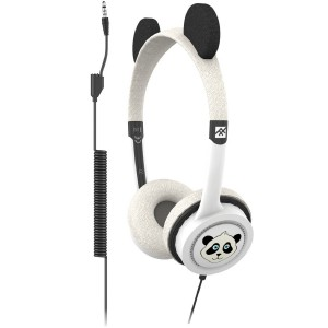 Ifrogz Little Rockerz Costume With Buddy Jack & Coiled Cable - Panda (IFLRCC-PN0)