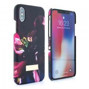 Proporta Ted Baker iPhone X Soft Feel Hard Shell Loliva - Impressionist Bloom - PRO-54779
